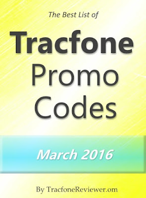 collects and shares the newest Tracfone promotional codes here on our blog Tracfone Promo Codes for March 2016