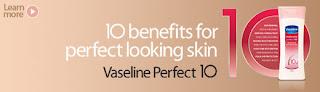 vaseline - FREEBIES - [ENDED] FREE Vaseline Perfect 10