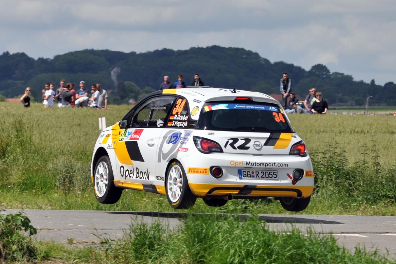 Ιστορική διάκριση για την Opel στο Ypres: Πρώτη νίκη για τον εργοστασιακό οδηγό της Opel, Marijan Griebel, στο FIA ERC Junior