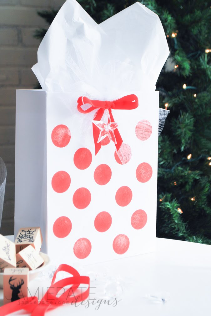 DIY Gift Wrap Ideas by Jamie Pate for Heidi Swapp Gift Wrap Collection  |  @jamiepate for @heidiswapp