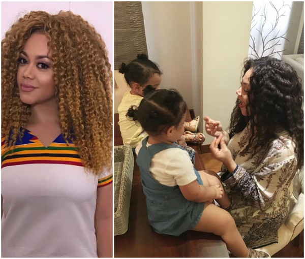 Nadia Buari shares a photo of her baby daddy for father's day