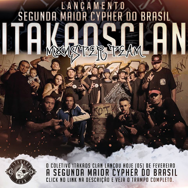 "Itakaos Clan lança o cypher ""Monster Team"""