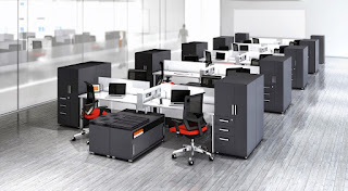 Modular Office Furniture Configuration