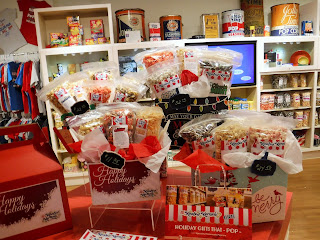 holiday gift baskets from Jolly Time Popcorn Koated Kernels in Sioux City, Iowa