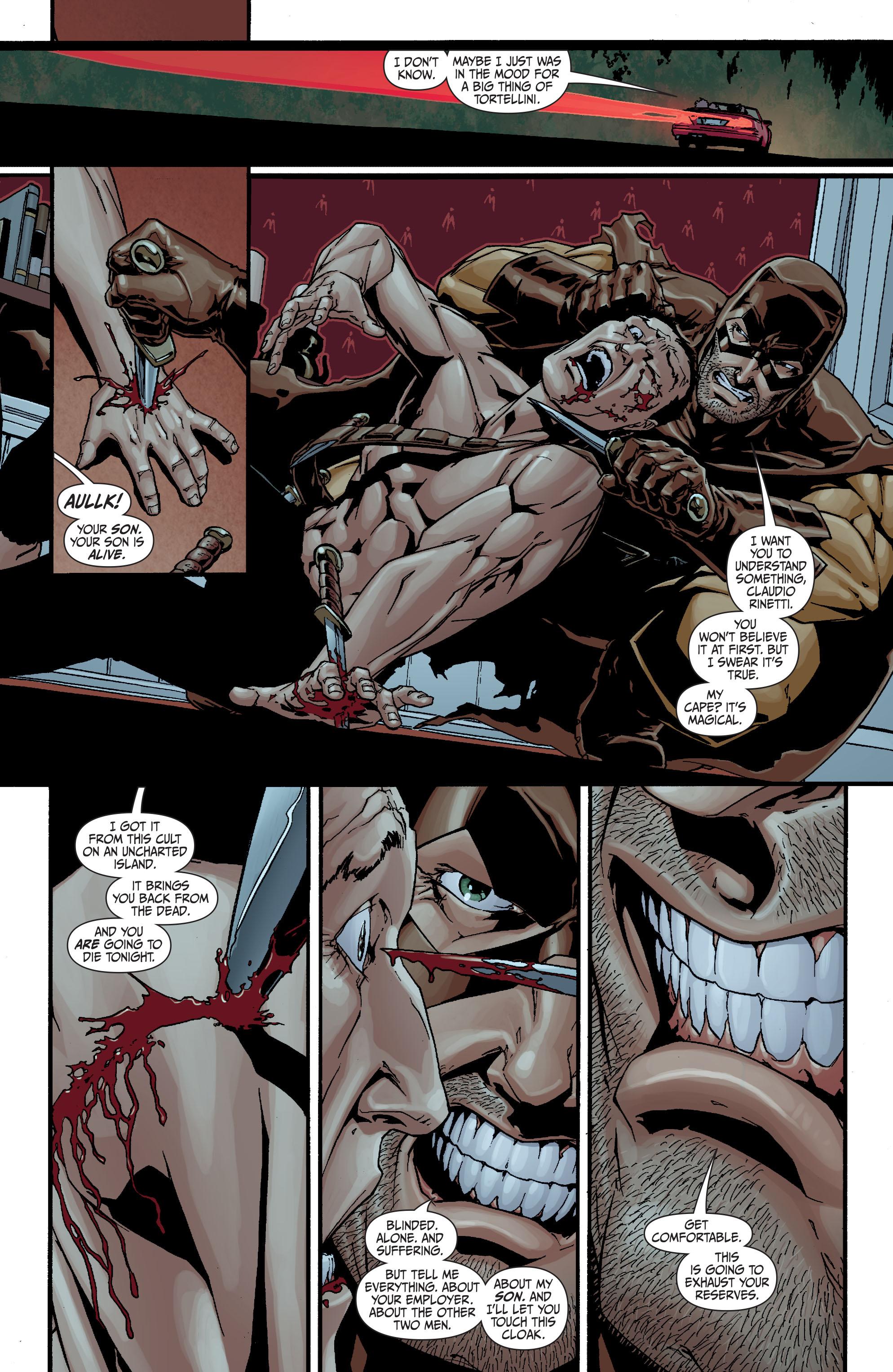 Read online Secret Six (2008) comic -  Issue #20 - 22
