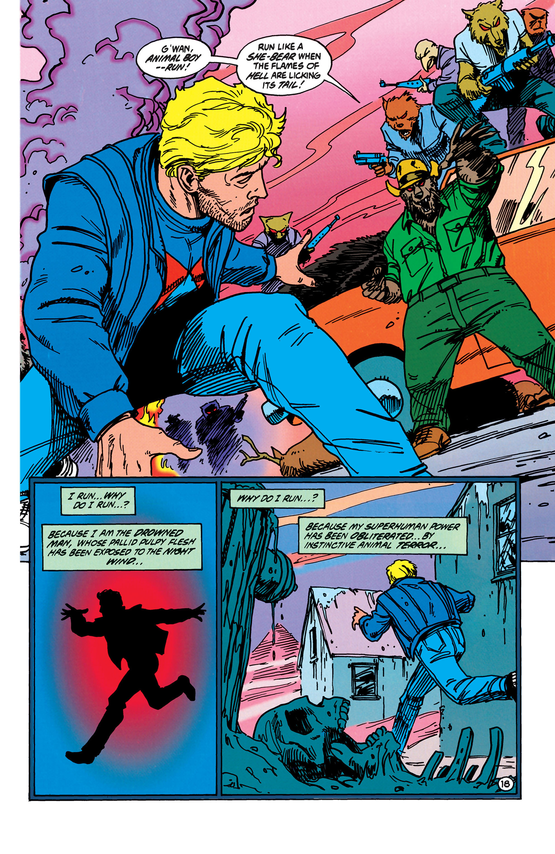 Read online Animal Man (1988) comic -  Issue #40 - 19