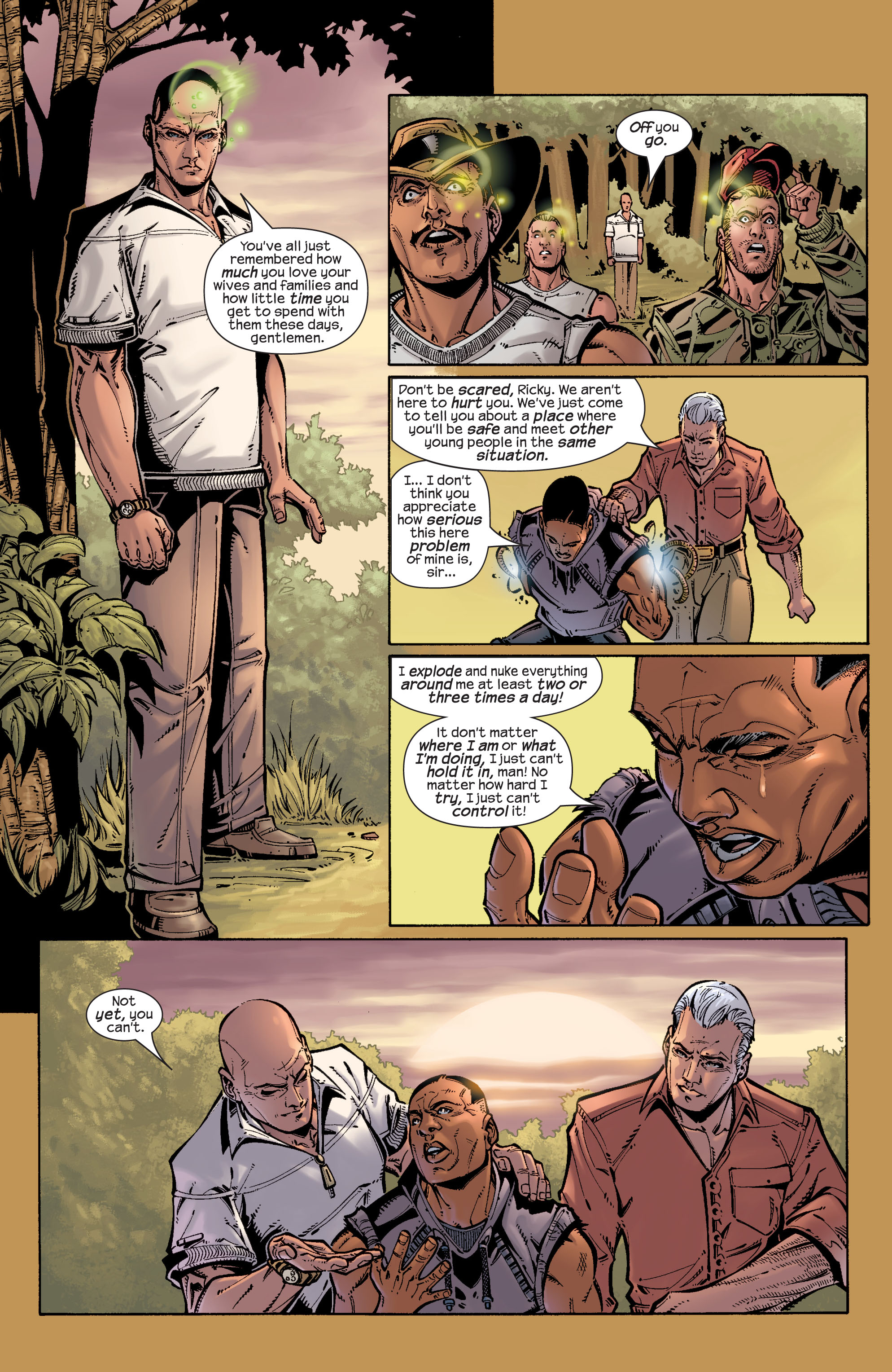 Read online Ultimate X-Men comic -  Issue #26 - 9