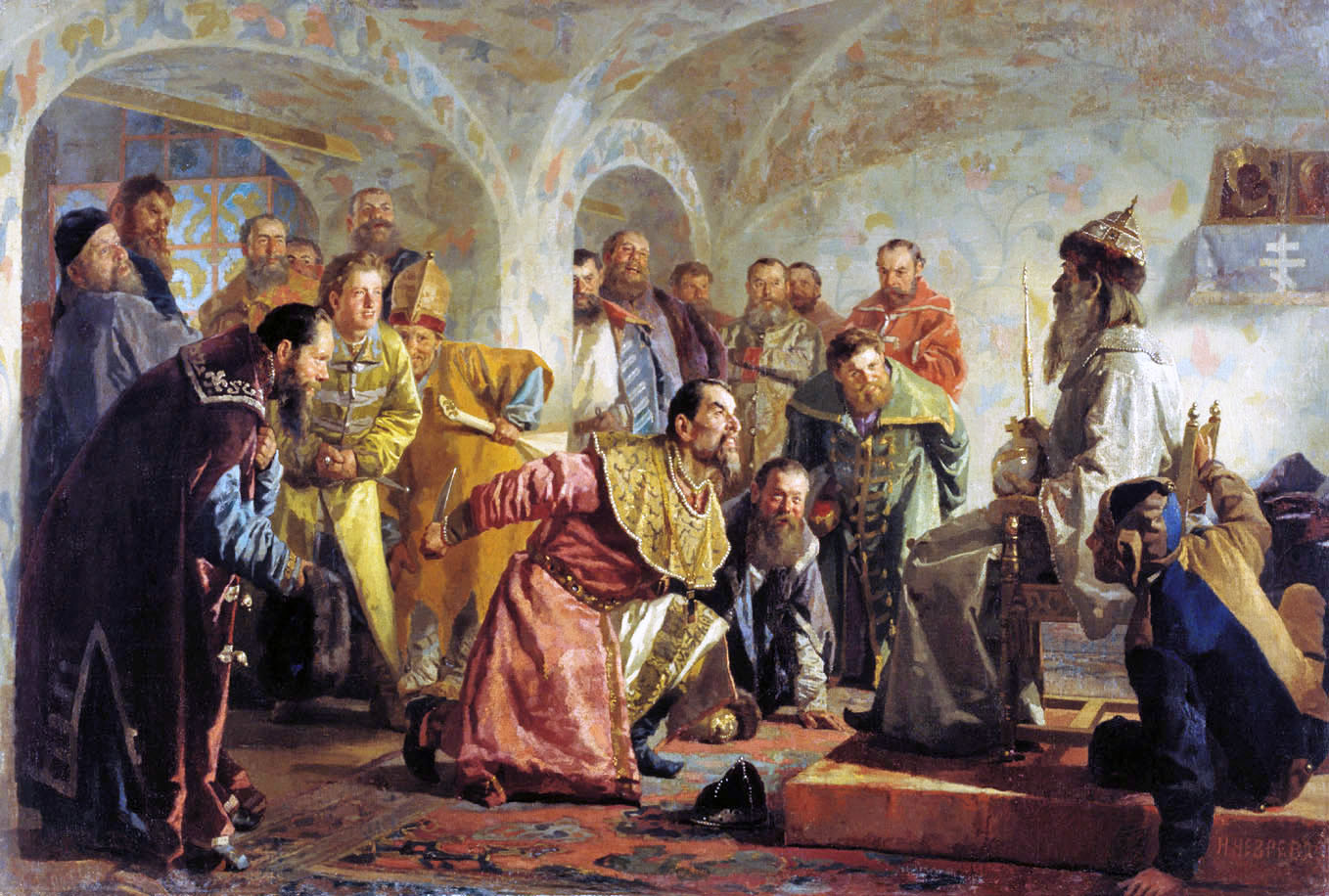 The Glory Of Russian Painting Nikolai Nevrev