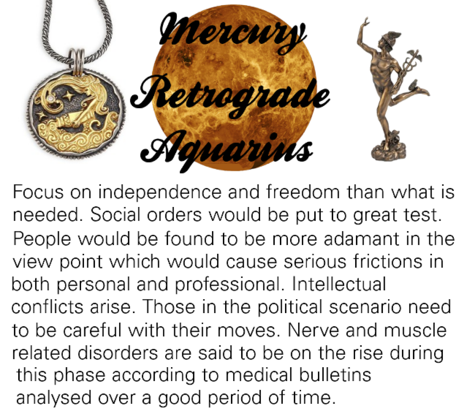 Mercury Retrograde Through the Signs - Astrological Counsel