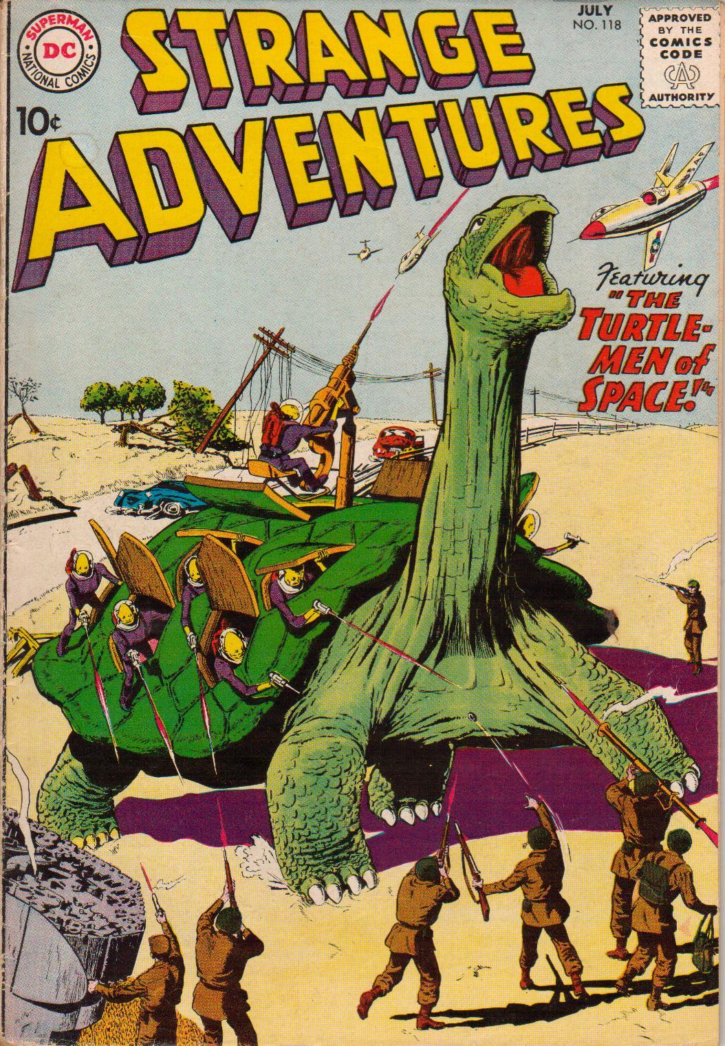 Strange Adventures (1950) 118 Page 1