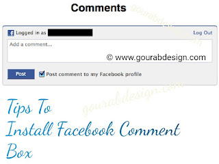 Install New Latest Facebook Comment Box In Blogger 2019