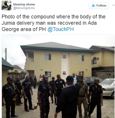 Police Recovers Body Of Murdered Jumia Delivery Man In Porthacourt 6