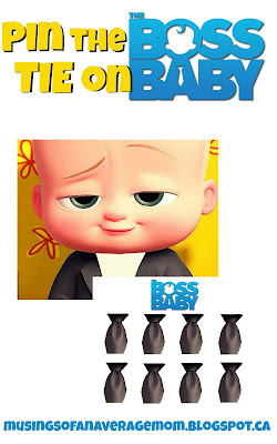 boss baby party games