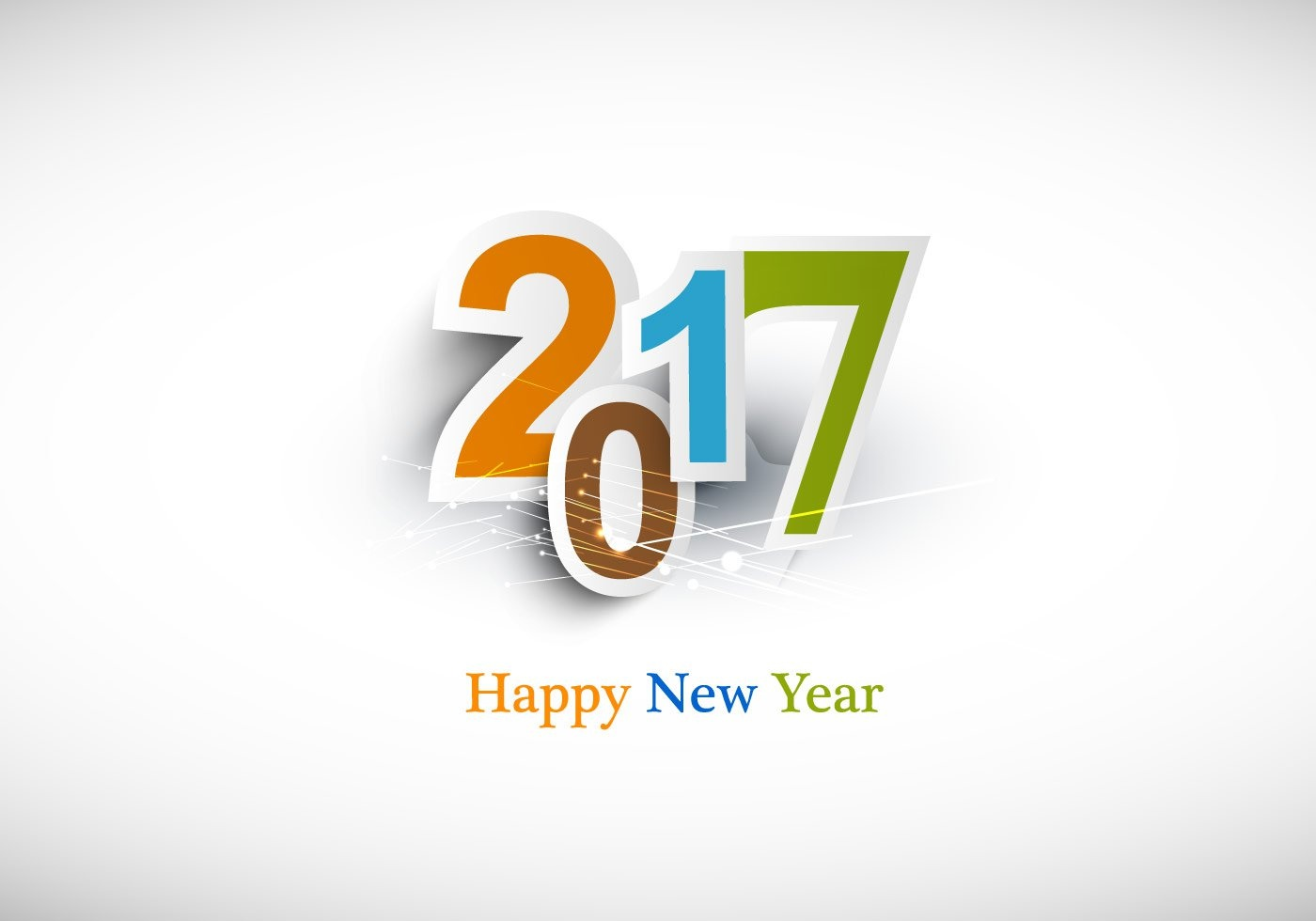 High Resolution New Year 2017 images