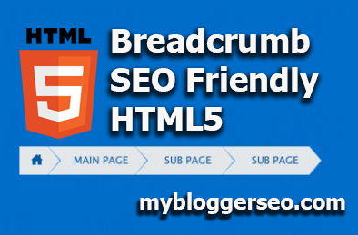 Breadcrumb SEO friendly Valid HTML5 para Blogger