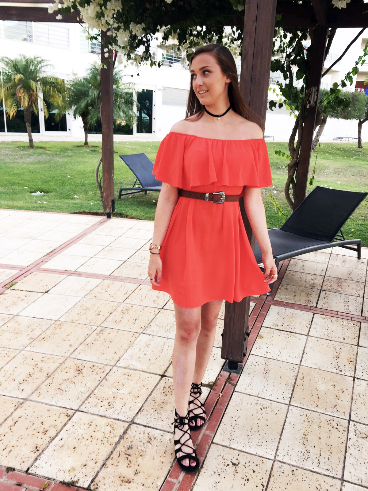 The Red Dress // Lauren Rose Bell // Fashion, Lifestyle and Beauty Blogger London // Holiday OOTD WIWT STYLE
