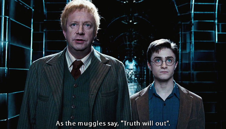 Arthur Weasley Muggle Studies with Shakespeare