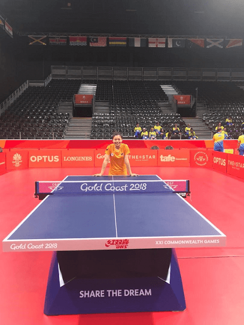 Ho Ying, Table Tennis Queen,