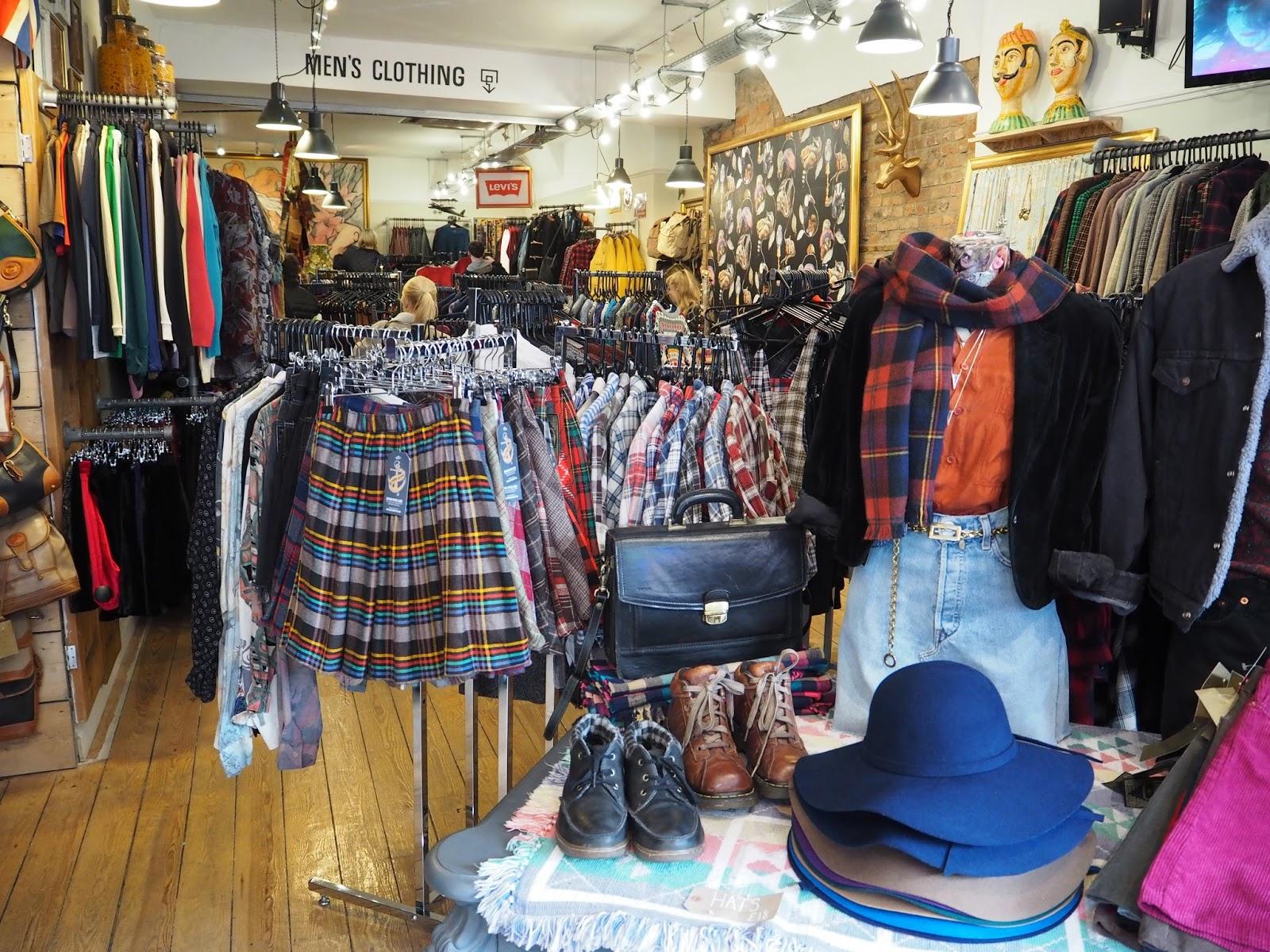 Sobeys vintage shop Park Street Bristol