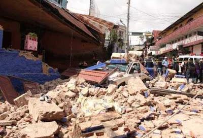 Al menos diez personas murieron en Guatemala por el terremoto de 7,5 grados.