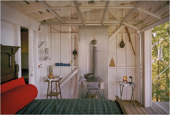Ide Model Rumah Kabin Kecil dan Sederhana