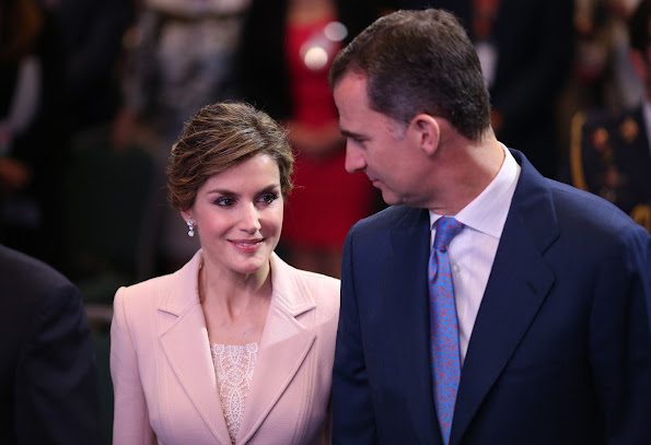 King Felipe and Queen Letizia of Spain attend the opening of the 7th International Congress of the Spanish Language in Puerto Rico