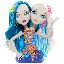 Monster High Just Play Peri and Pearl Serpentine Styling Head Figure