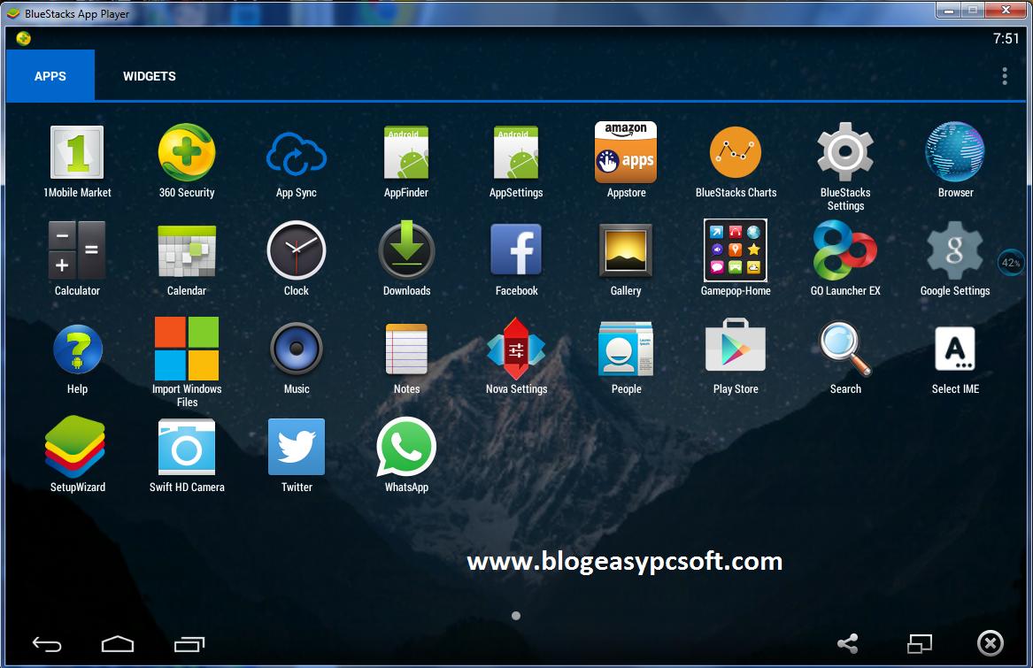BlueStacks For Windows Free Download Fline