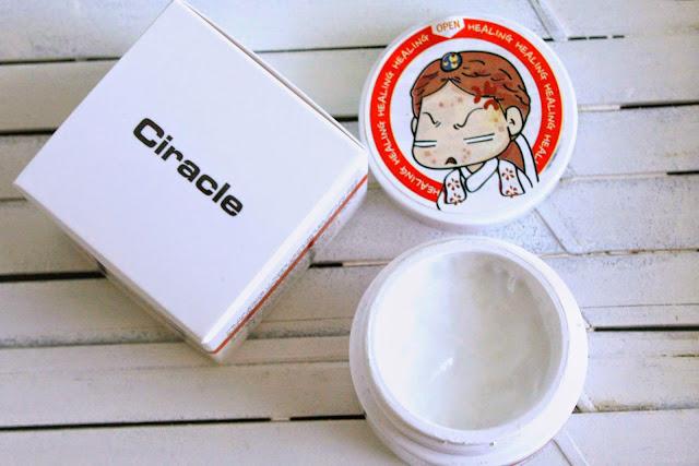 Review kem trị mụn sưng đỏ Ciracle Red Spot Cream 30ml