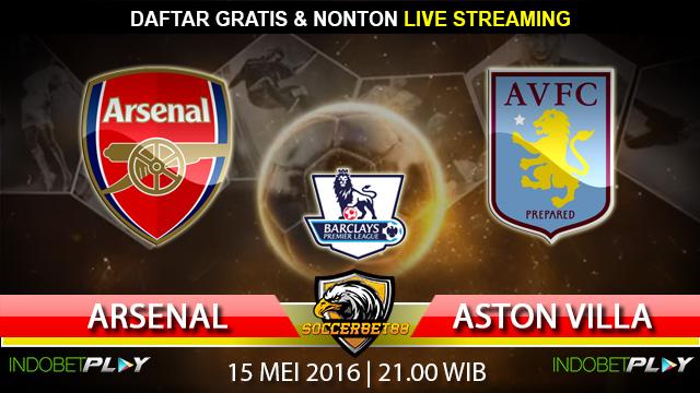 Prediksi Arsenal vs Aston Villa 15 Mei 2016 (Liga Inggris)