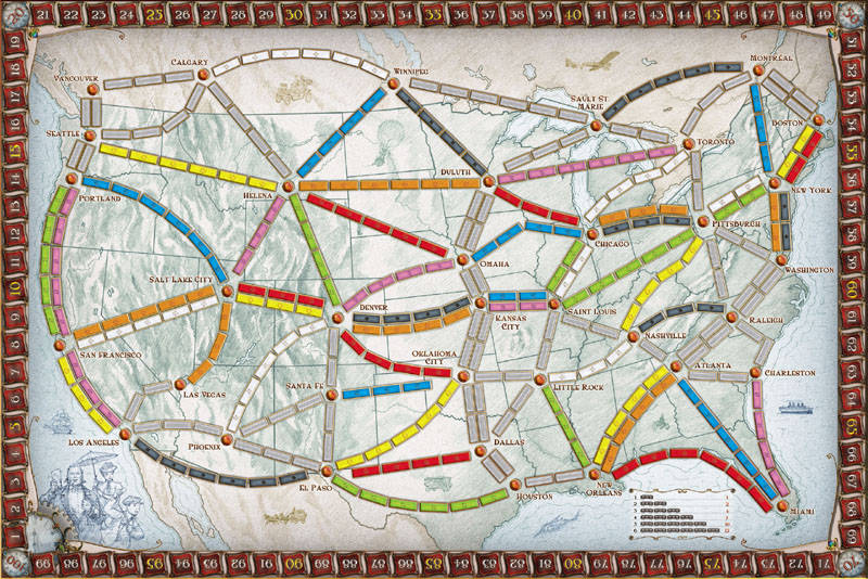 Ticket To Ride Review Polyhedron Collider