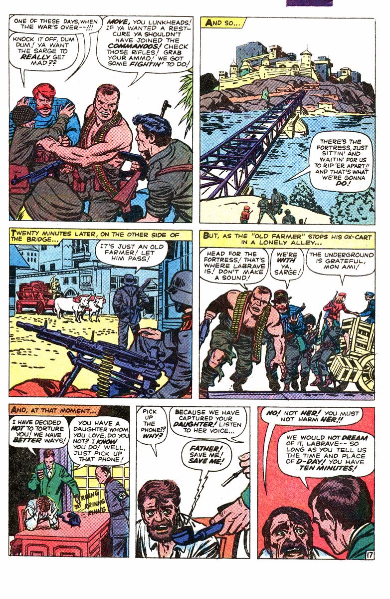 Read online Sgt. Fury comic -  Issue #167 - 28