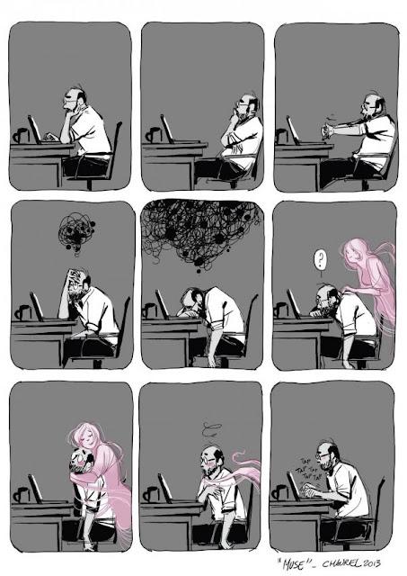 Meme de humor sobre escritores