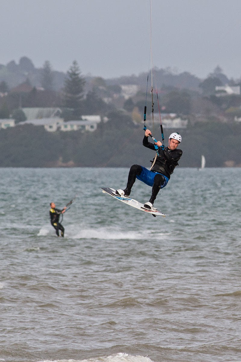 Kite Surfing - Random dude