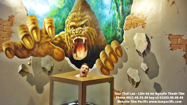 Một trong những tranh 3d nổi bật tại Thái Lan