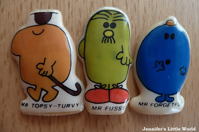 Mr Men vintage magnets
