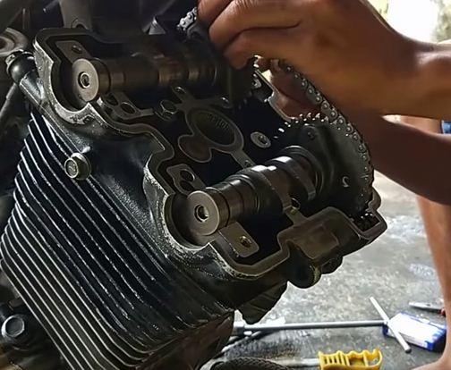 mesin FU 2010 kasar saat panas