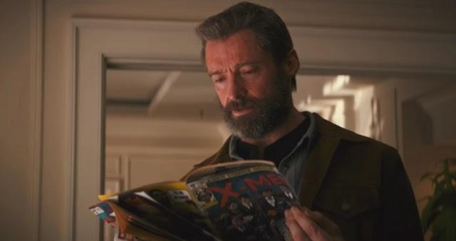 El traje de Wolverine en el comic del tráiler