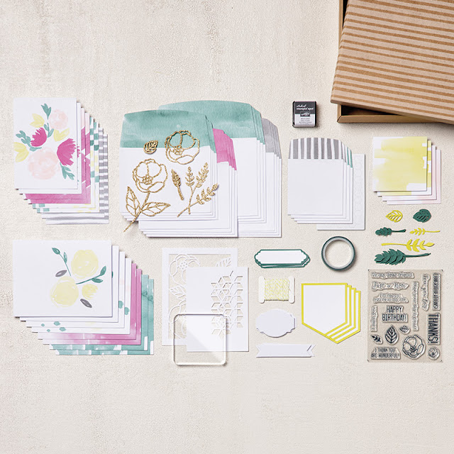 Le kit de cartes Douces notes Stampin' Up!