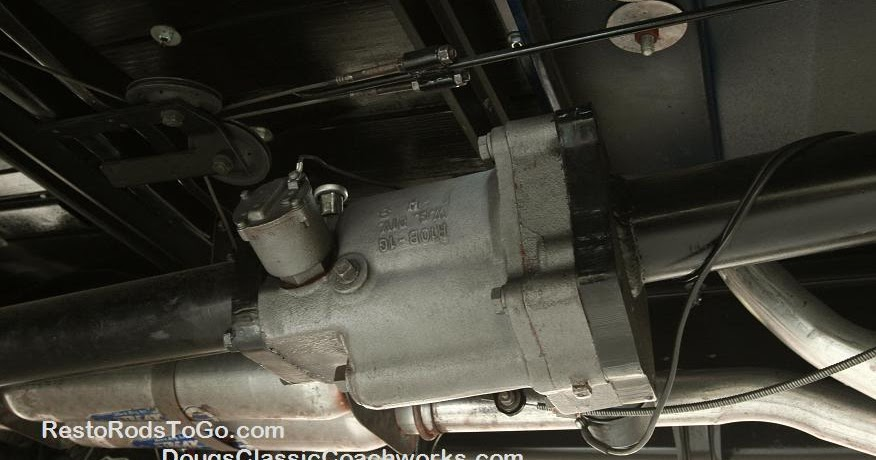 1930 Ford Truck >> R-10 Borg Warner Overdrive Custom Installation and ...