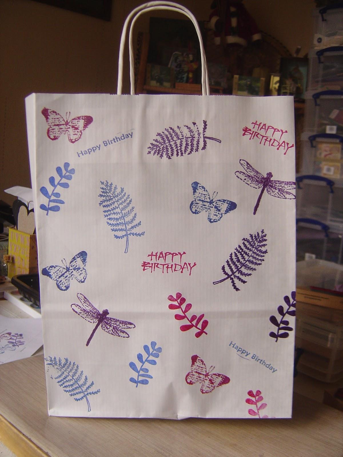 Sam S Blog Decorating Paper Bags