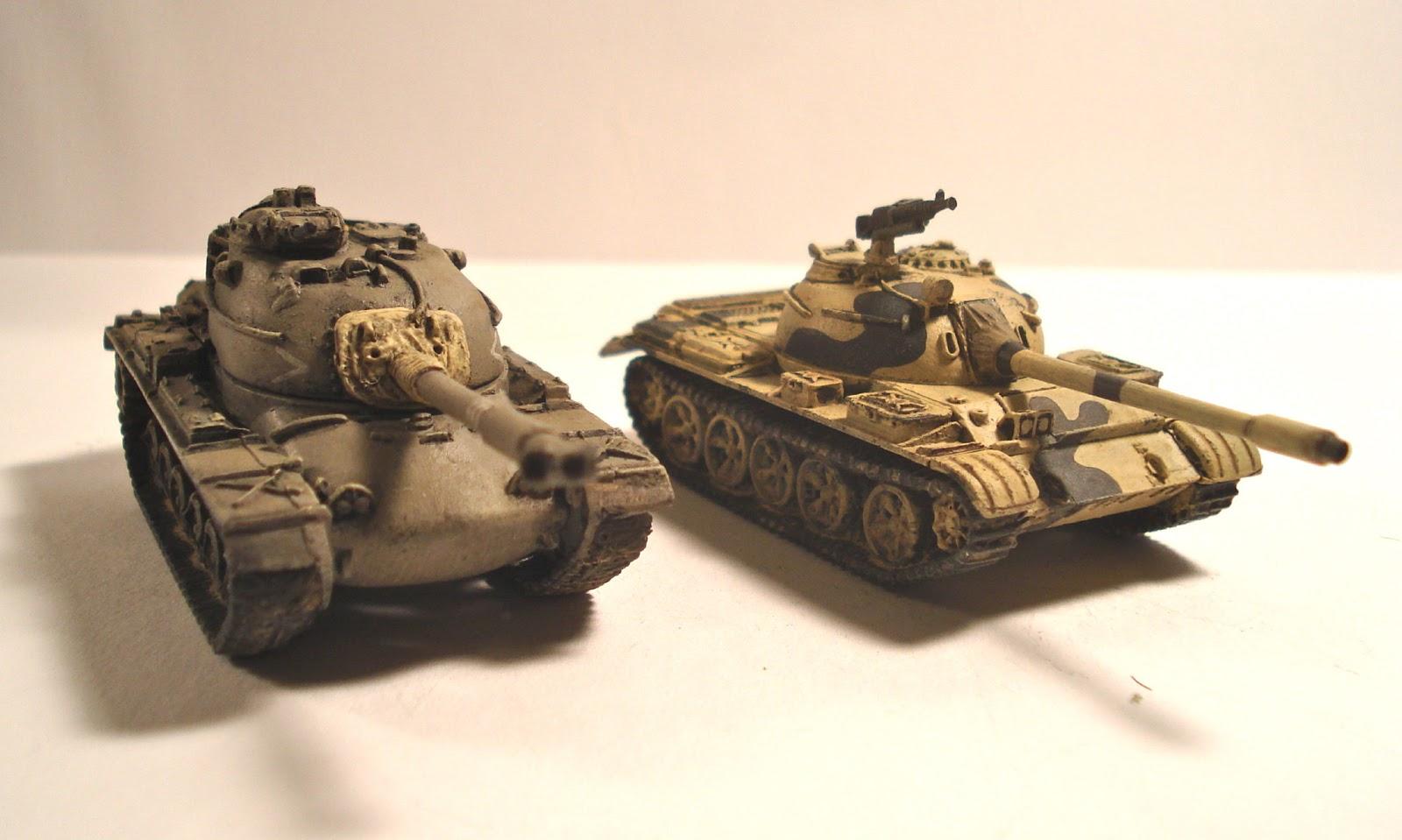 Broke Low Eygptian T 55 Tanks Fow