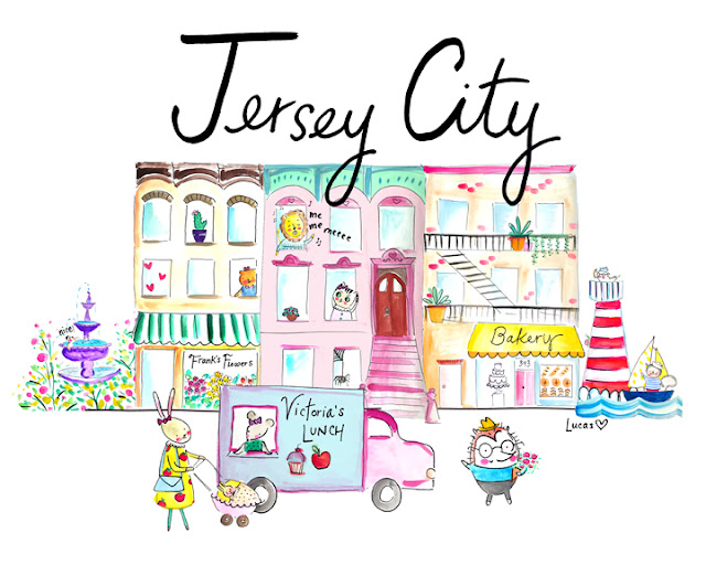 Jersey City by Lady Lucas | Linzer Lane Blog