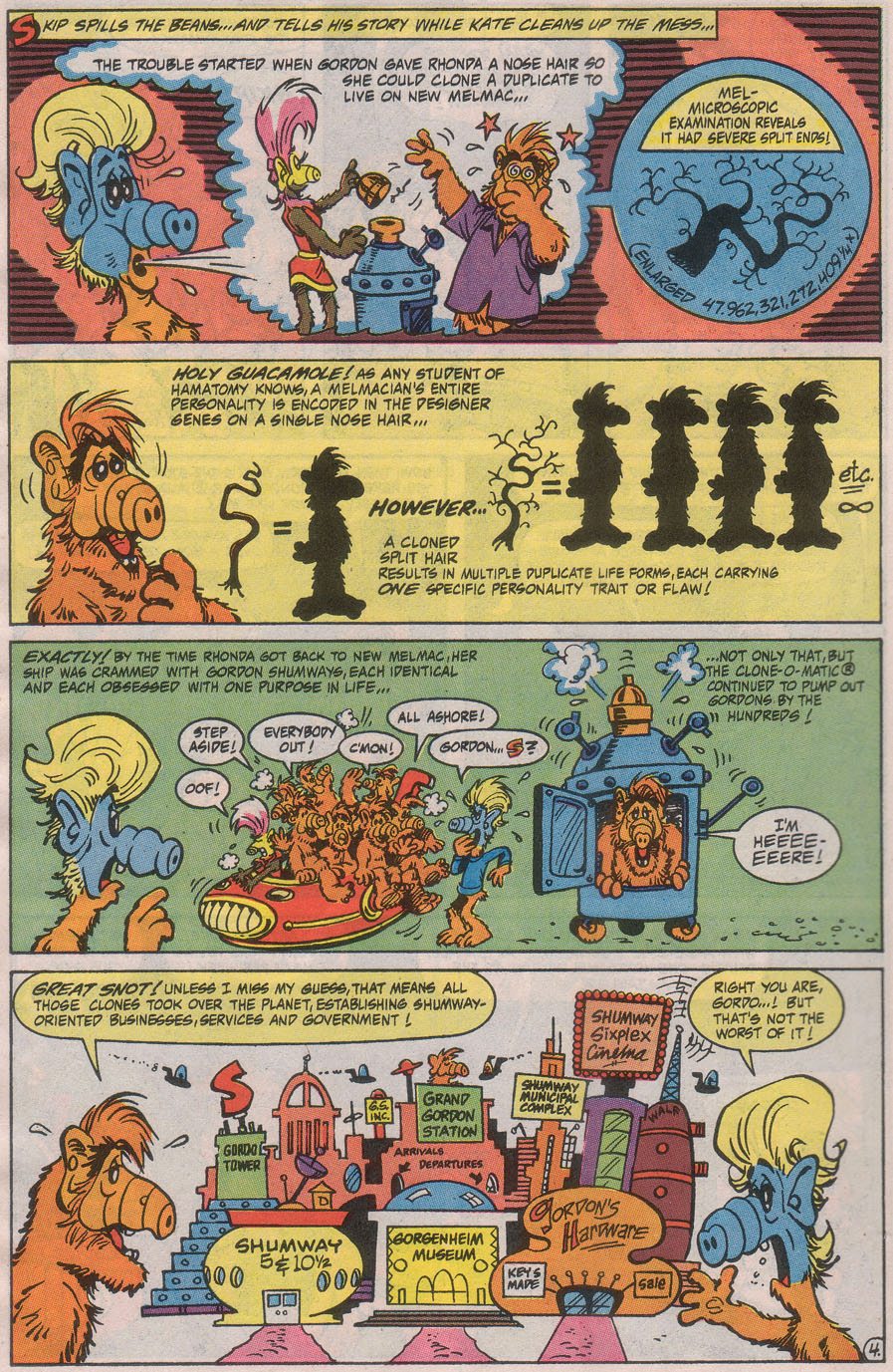 Read online ALF comic -  Issue #42 - 6