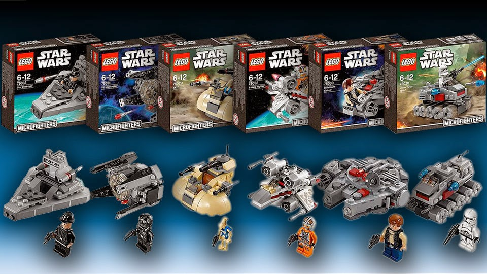 VIDEO REVIEW LEGO Star Wars Microfighters  The Test Pit