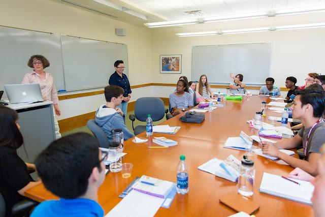 Trinity University classroom