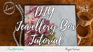 DIY Jewellery Box cover