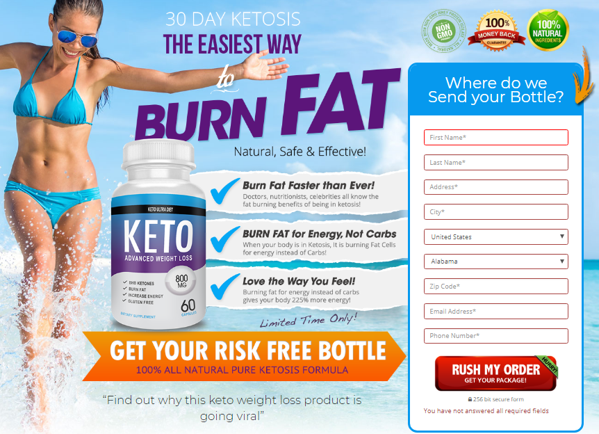 what is in the keto ultra diet