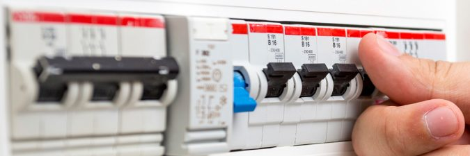 switchboard, RCD, Safety switch, circuit breaker
