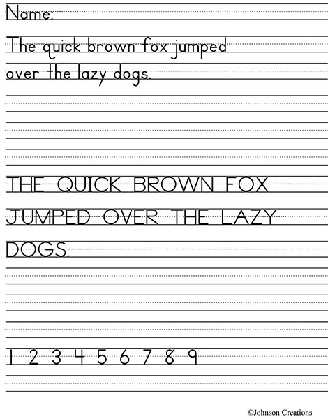 handwriting analysis test pdf